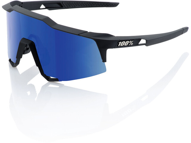 100% Speedcraft Cykelbriller Tall sort
